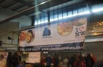 Chestnut Meats Stall Banner