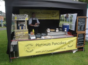 Platinum Pancakes at Sutton Bonington