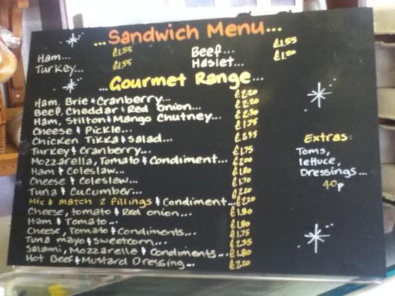 Nicholls Sandwich Board