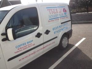 Truly Scrumptious Van