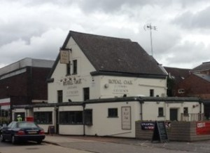 The Royal Oak in Radcliffe