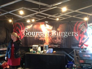 Gourmet Burgers Stall