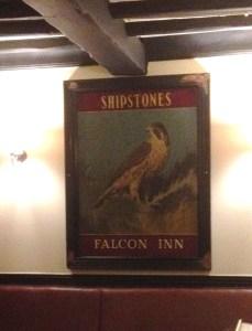 Shipstones Sign in the Falcon