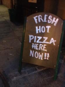 Pizza Chalkboard