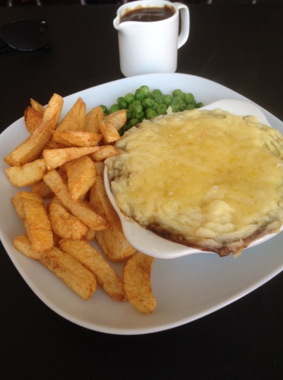 Home made Cottage Pie at Gracies