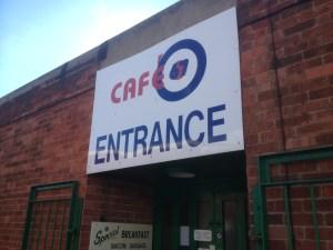 Cafe 67 entrance