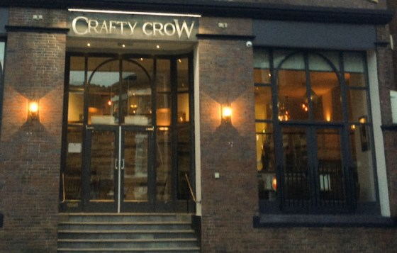 Craft Crow Door