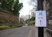 Taste in the Park Signs