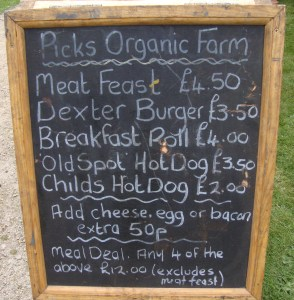 Picks Chalkboard