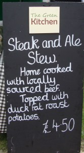 The Green Kitchen sign 1