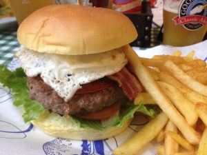 Humprey Bogart Burger