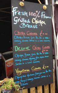 Grilled Chicken Stall