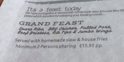 Meat Feast Platter