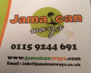 Jamaican Ways Sign