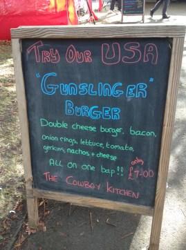 The Gunslinger Burger