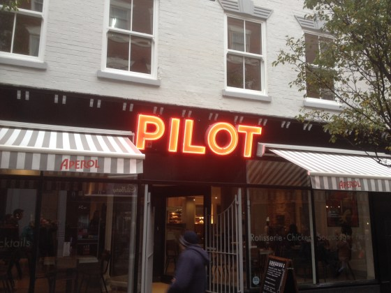 Pilot in Hockley