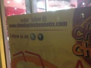 Chunky Chicken Window