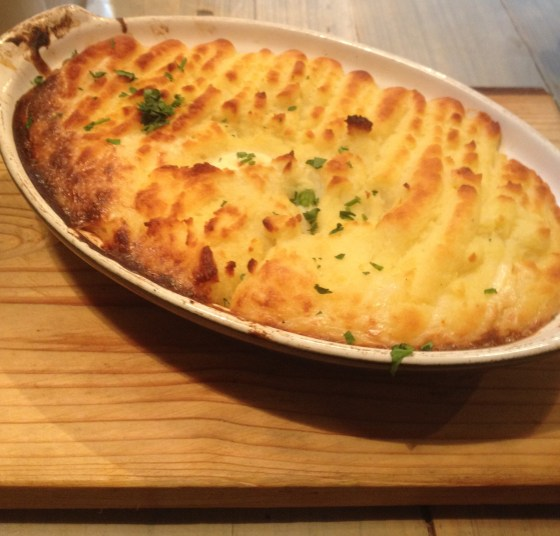 Fish Pie at Bills in Nottingham