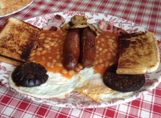 The BIG breakfast at the Jukebox Cafe