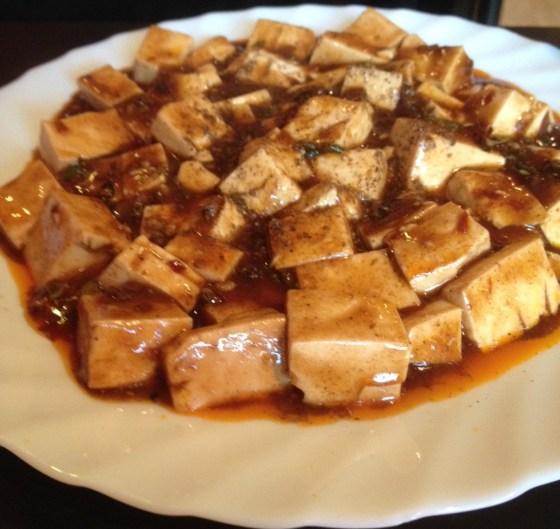 Ma Po Tofu at China Fu
