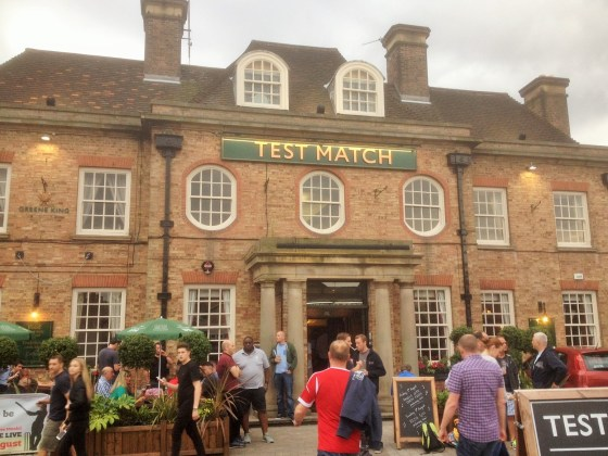 Test Match in West Bridgford