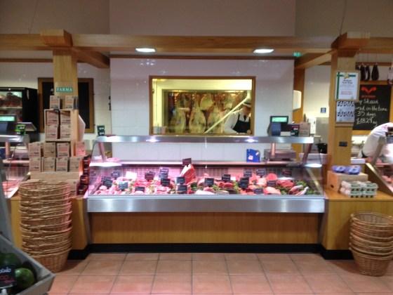 Inside the Welbeck Farm  Shop