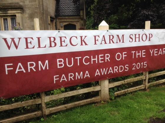 Welbeck Farm Shop Sign