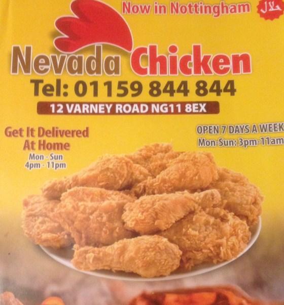 Nevada Chicken Flyer