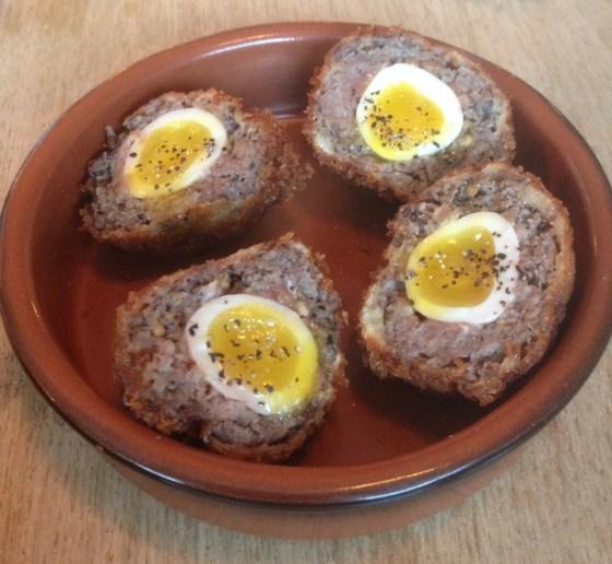 Scotch Eggs at Oaks