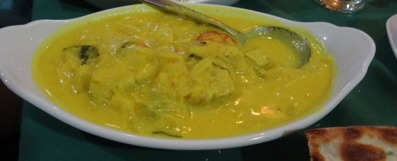 Fish Curry at Cochin Fort