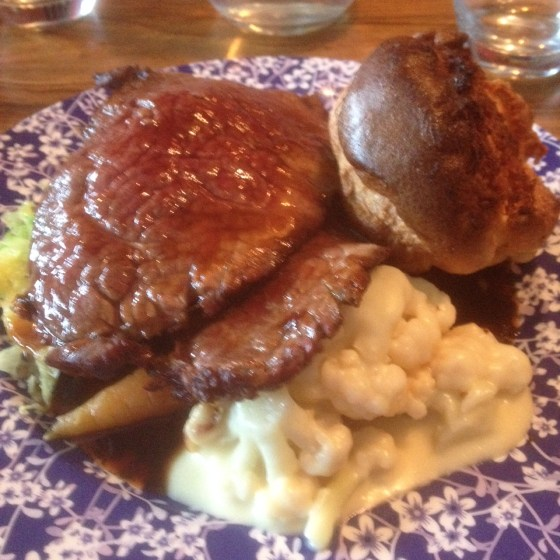 Topside of Beef at the Curious Manor