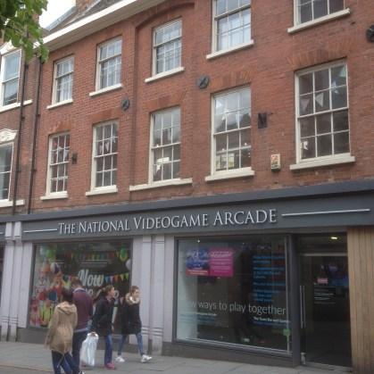 National Videp Arcade Nottingham