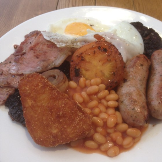 Full Breakfast at the Crafty Crow