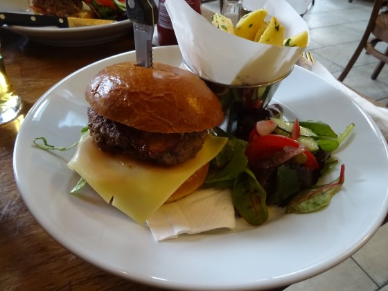 Burger at Bread and Bitter