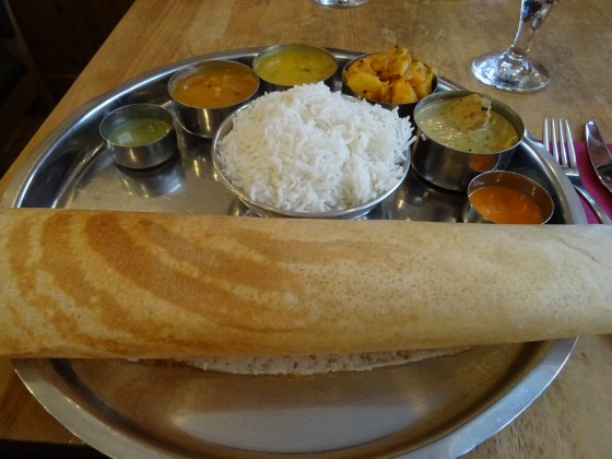 Lunchtime Thali at Kayal in Nottingham