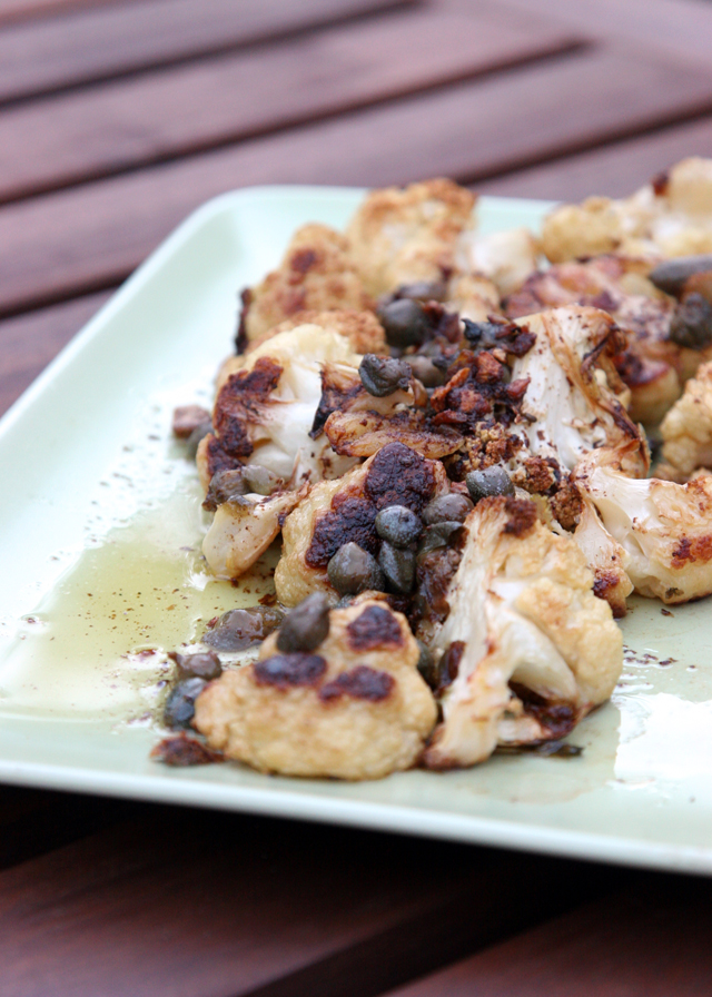 Cauliflower with Bagna Cauda