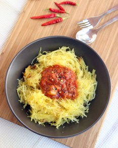 Spaghetti Squash with Caveman Sauce3
