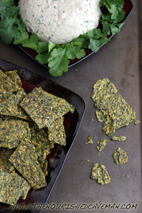 Raw Avocado and Golden Flax Crackers by The Nourished Caveman 3