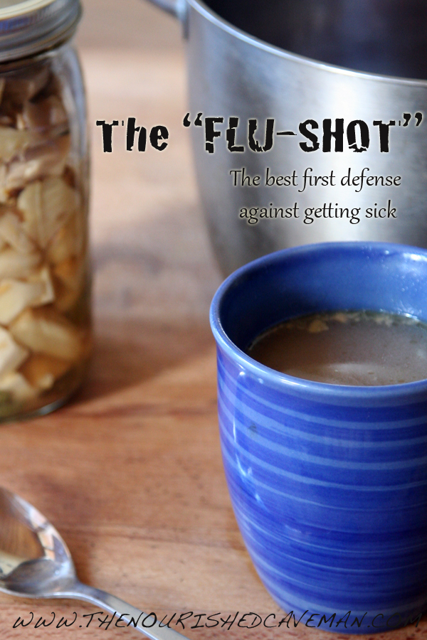 The Flu Shot byWWW.THENOURISHEDCAVEMAN.COM