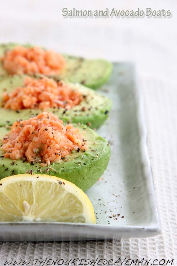 Salmon and Avocado Boats by The Nourished Caveman 3