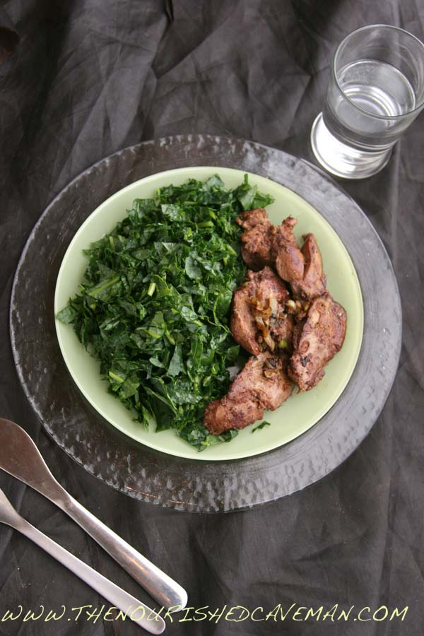 Sauteed Chicken Liver Recipe for Ketogenic Diet Week Meal Plan- Tuesday day 3 | | The Nourished ...