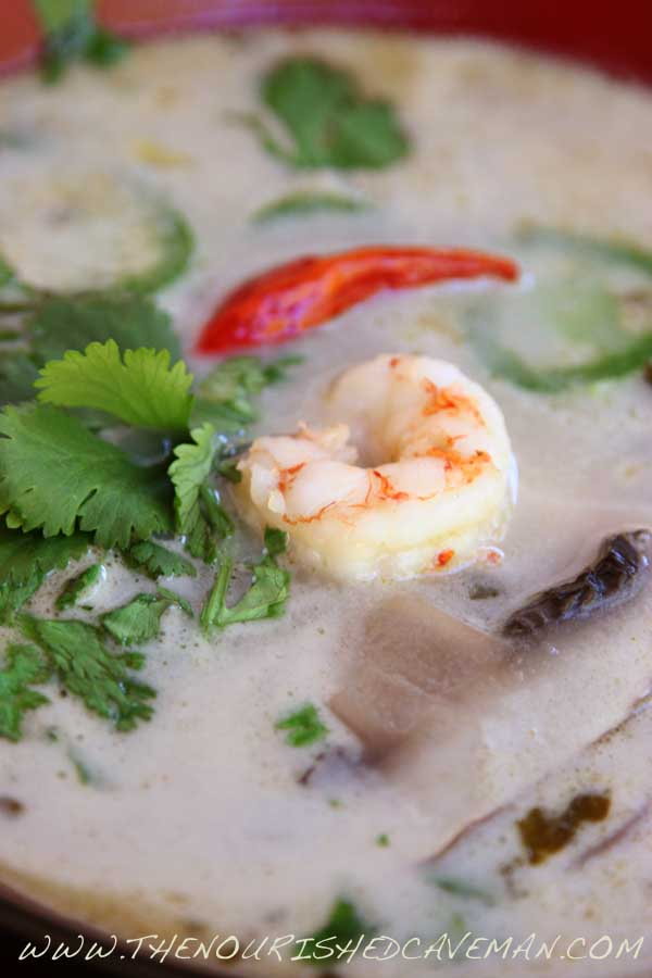Thai Coconut Soup by The Nourished Caveman 01