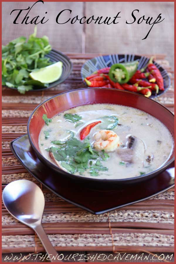 Thai Coconut Soup by The Nourished Caveman 04