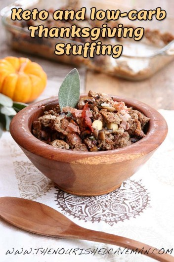 Gourmet Keto Thanksgiving Stuffing By The Nourished Caveman Plated