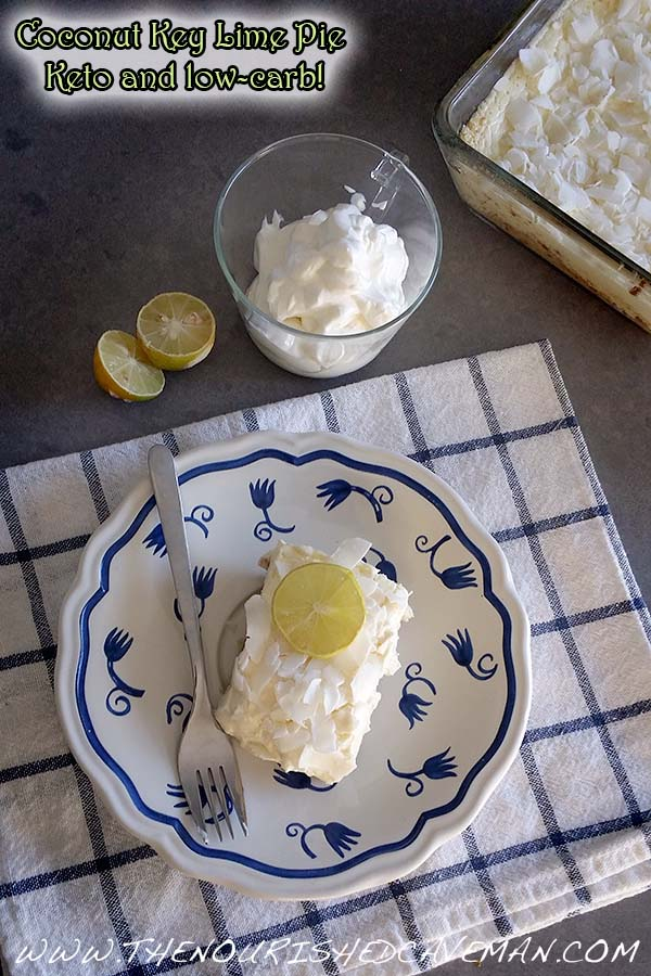Coconut Key Lime Pie Keto By The Nourished Caveman 2