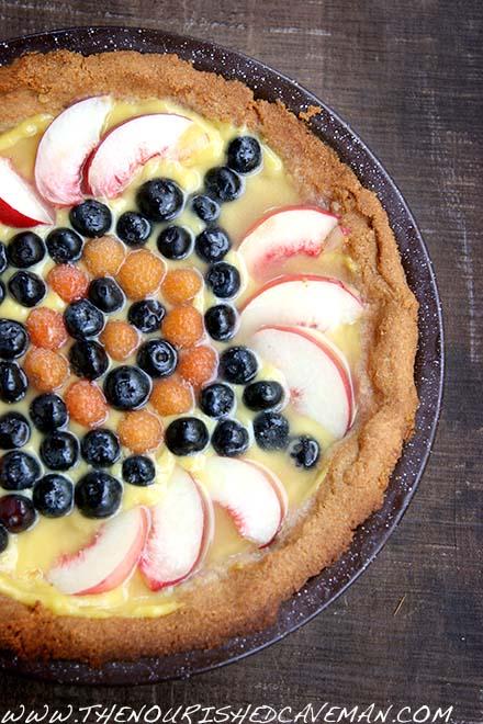 Keto Fruit Tart By The Nourished Caveman 2