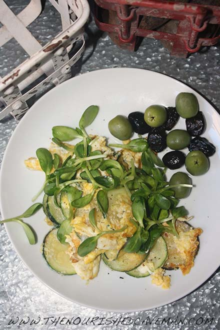 Guest Post: French Bistro Breakfast Of Eggs And Vegetables