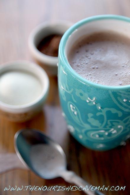 Chocolate Almond Ketone Breakfast Drink | | The Nourished Caveman