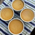 Baked Ginger Pumpkin Custard