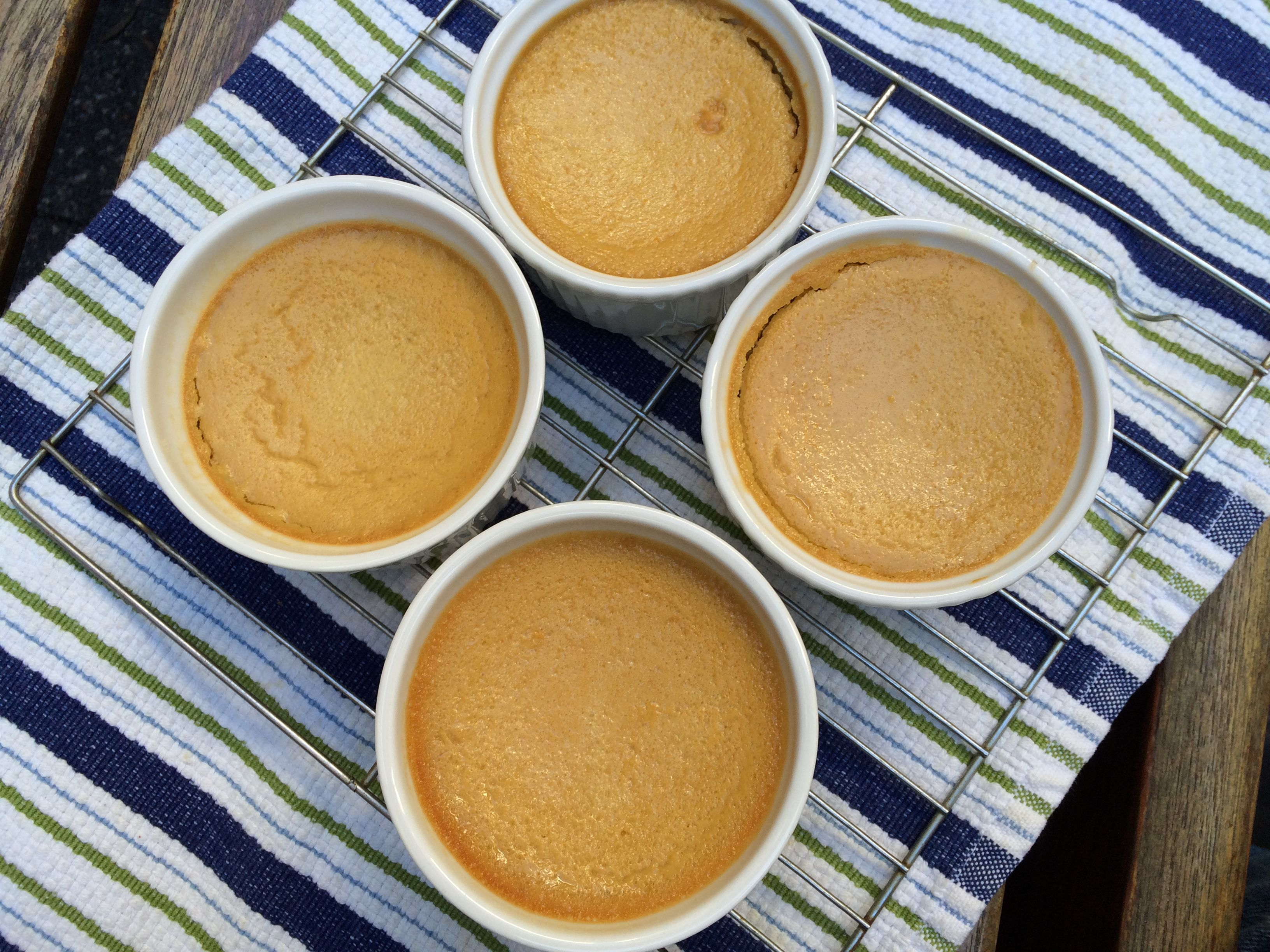 Ginger Pumpkin Custard 2